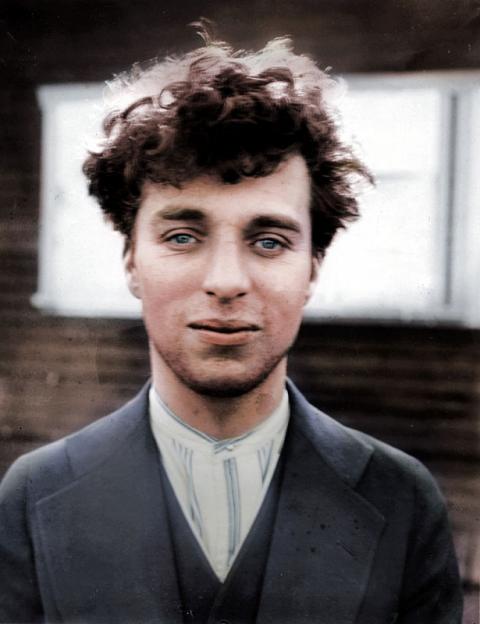 Charlie Chaplin 'Colourised'