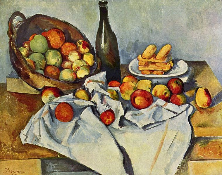 Paul Cézanne Painting