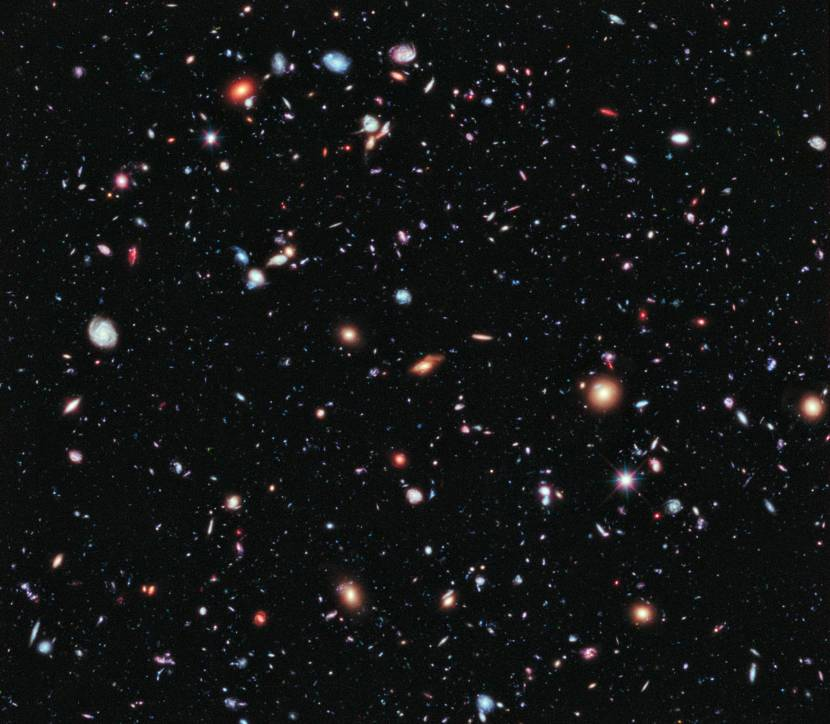 Ultra-Deep Field  by Hubble