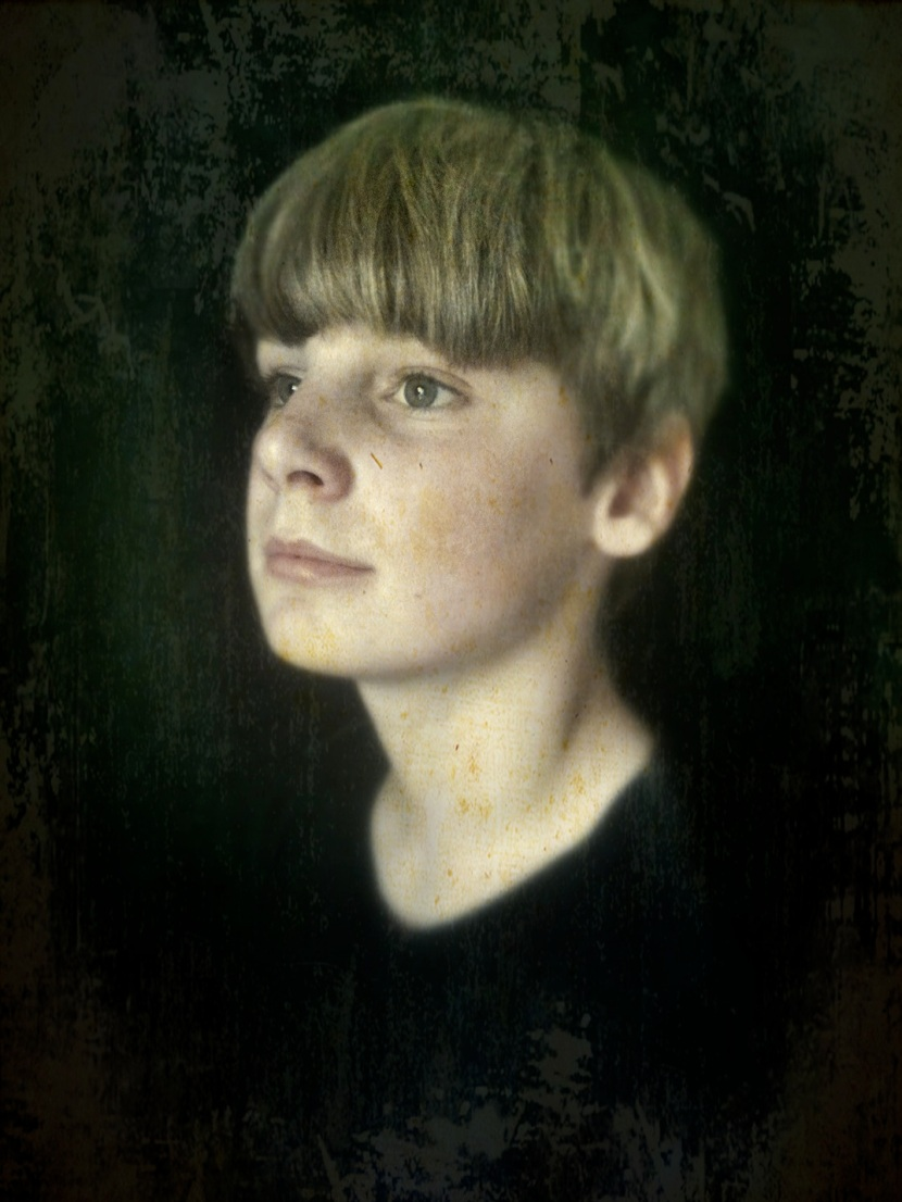Portrait of my son