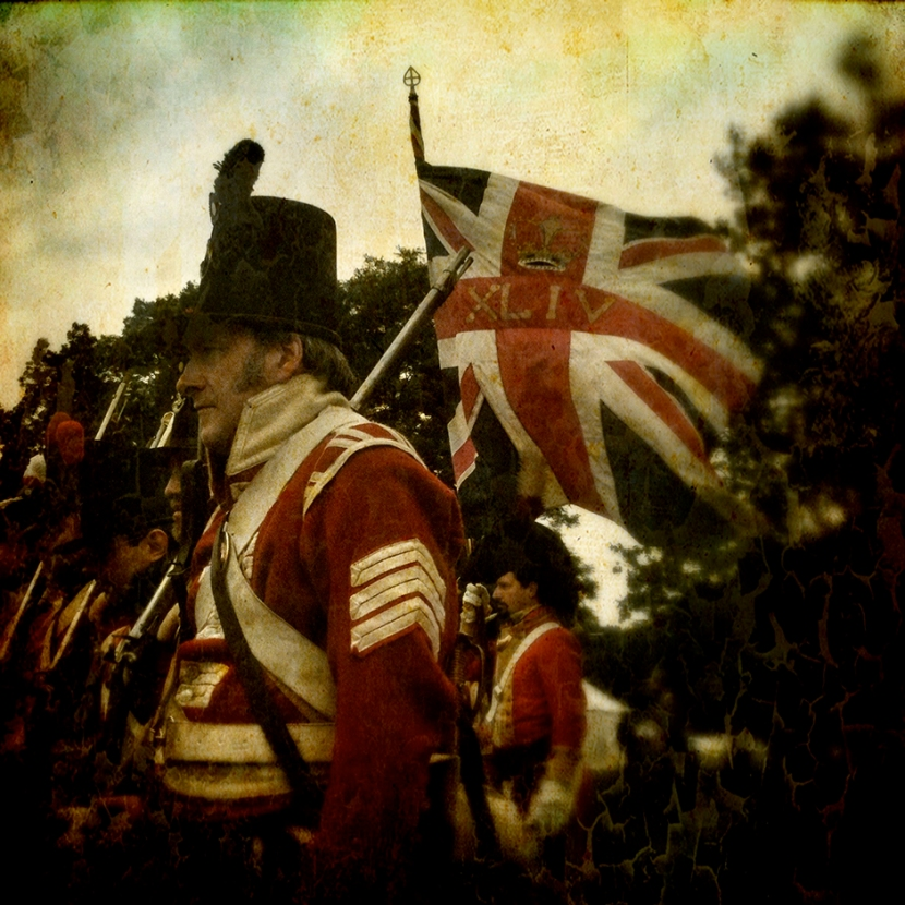The Battle of Waterloo reenactment 2013 Belgium