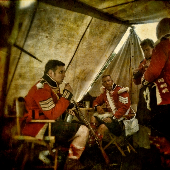 The Battle of Waterloo reenactment 2013 Belgium
