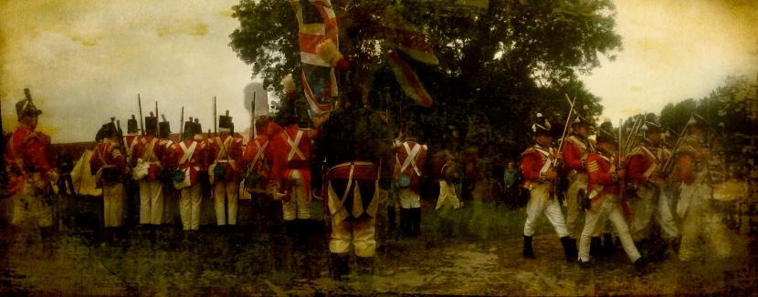 Toy Soldiers: Battle of Waterloo reenactment 2013 © Sean Hayes
