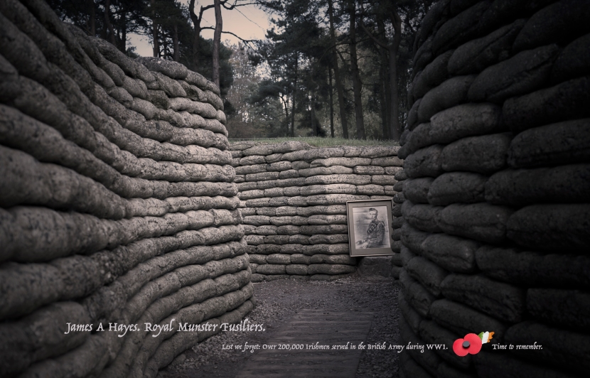 The Trenches, Vimy, France © Sean Hayes